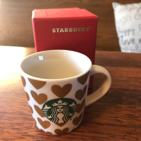 New Starbucks Mini heart espresso mug